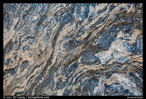 Close-up of granite rock. Rocky Mountain National Park, Colorado, USA.