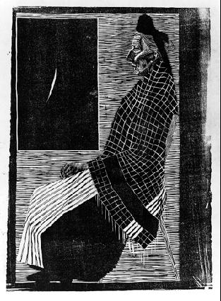LW53-MC-Escher-Seated-Old-Woman-1920