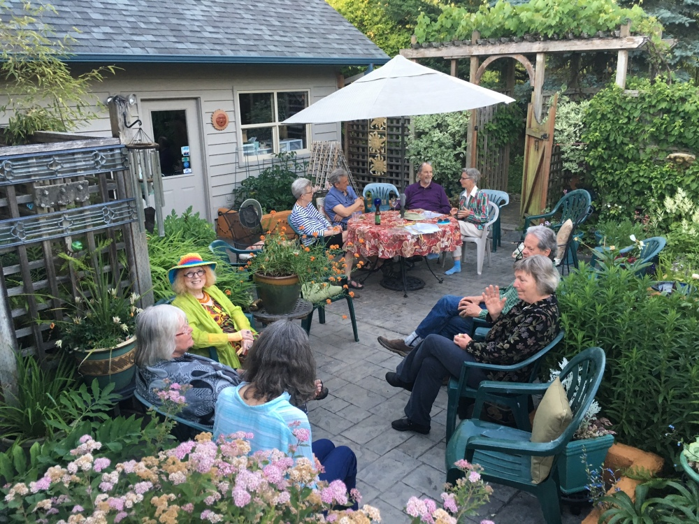 2016.6.6.garden party poetry.colleen and harvey
