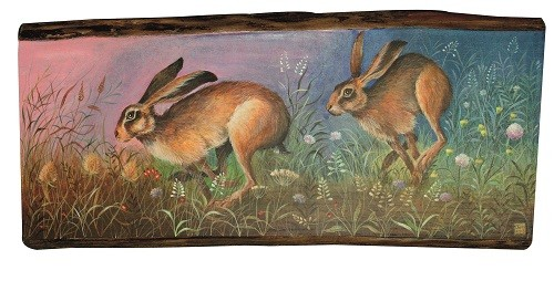 Jemima-Jameson-Hares-in-the-meadow
